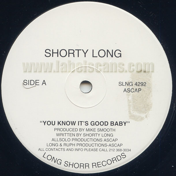 Shorty Long - Shorty'z Doin' His Own Thang